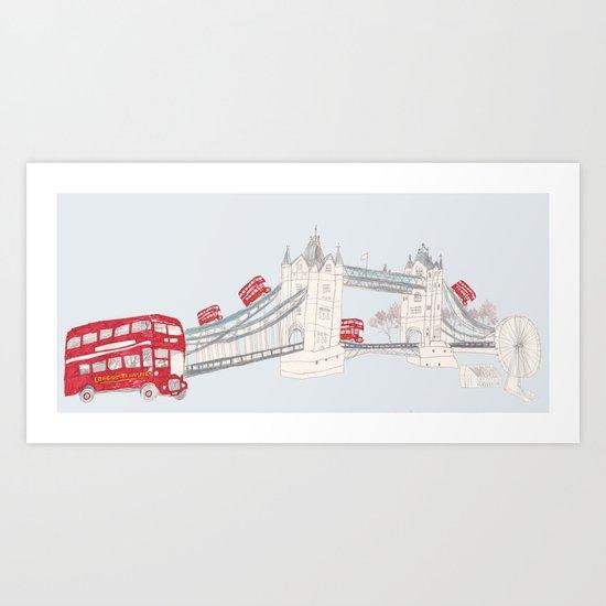 london impression Art Print