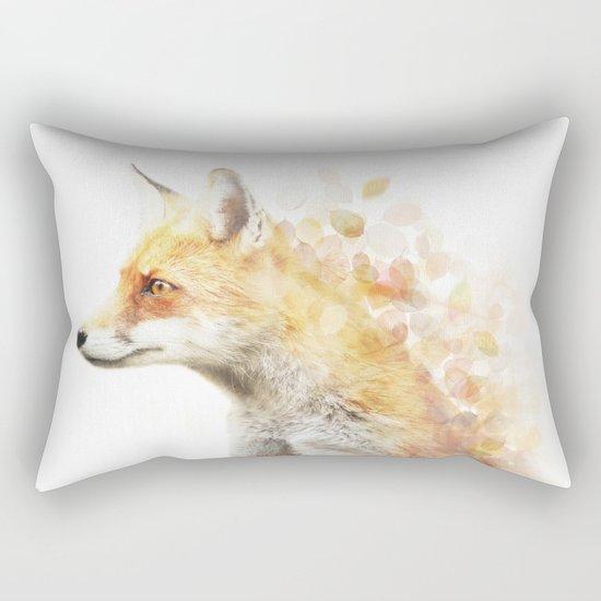 Winter Foxy #2 Rectangular Pillow