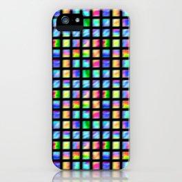 Peacock Tile iPhone Case