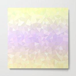 Pastel Ombre 3 Metal Print