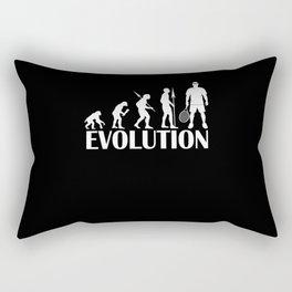 Evolution of Tennis Rectangular Pillow