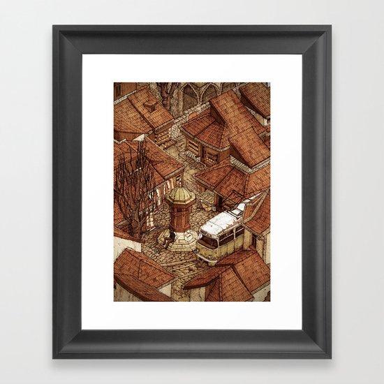Bascarsija 2/2 Framed Art Print