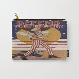Vintage poster - Defend Your Country Carry-All Pouch