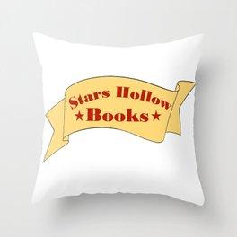Stars Hollow Books Throw Pillow