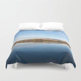 A blue lake Duvet Cover