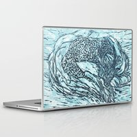 sleep Laptop & iPad Skins featuring Sleep by Ambitious Waffle