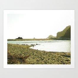 Navaro Beach I Art Print