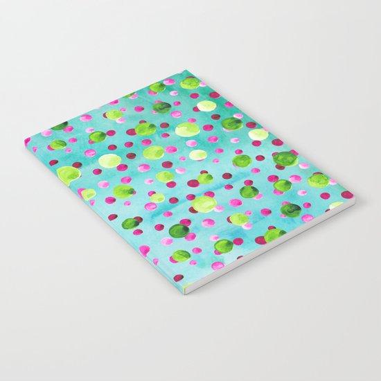 Polka Dot Pattern 09 Notebook