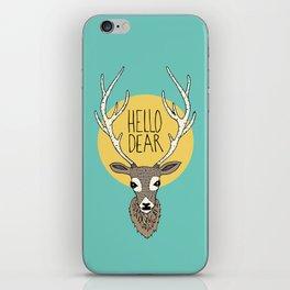 Good Manners - Hello Dear iPhone Skin