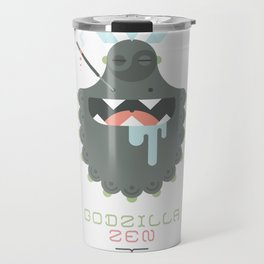 Godzilla Zen (Japan Contrasts series) Travel Mug