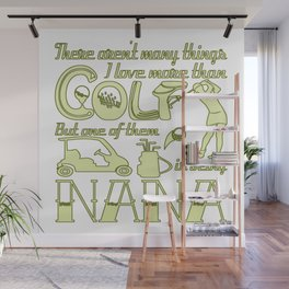 Golf Nana Wall Mural