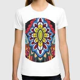 Tribal ceremonial mask T-shirt