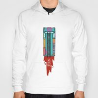 hotline miami Hoodies featuring Hotline Miami 2 by Jarvis Glasses