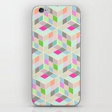 Rubic Cube Pattern iPhone & iPod Skin