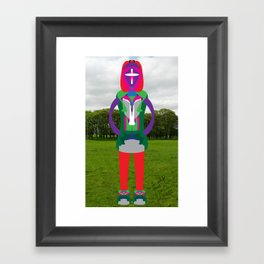 In and Not of and Sent Framed Art Print