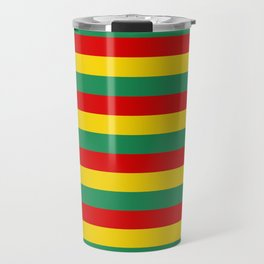 cameroon flag stripes Travel Mug