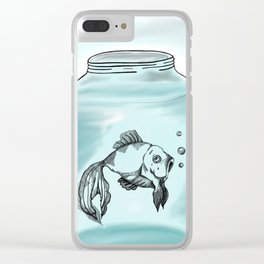 Le Fish Clear iPhone Case