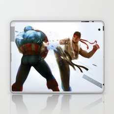 Marvel VS Capcom: Captain America VS Ryu Laptop & iPad Skin