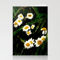 daisies Stationery Cards featuring Daisies by James Peart