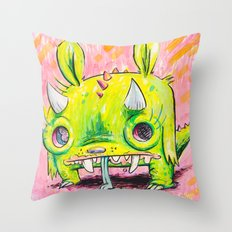 Spirit Animal: Subatomic Photo Muncher Throw Pillow