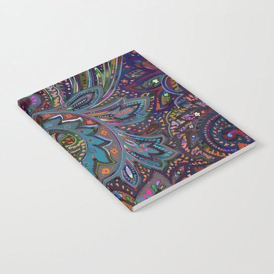 Magic Paisley Pattern Notebook