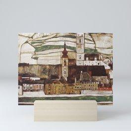 Egon Schiele - Stone on the Danube Mini Art Print