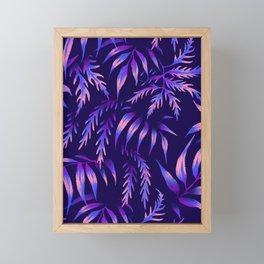 Brooklyn Forest - Purple Framed Mini Art Print