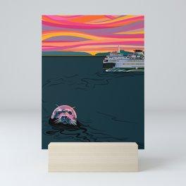 Secrets of the Sea Mini Art Print
