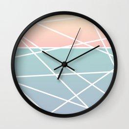 Ocean Fade Wall Clock