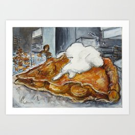 Pie in the Mission Art Print