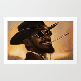 Django - Our newest troll Art Print