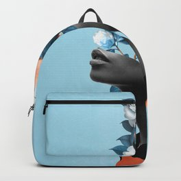 Girl with parrot Backpack