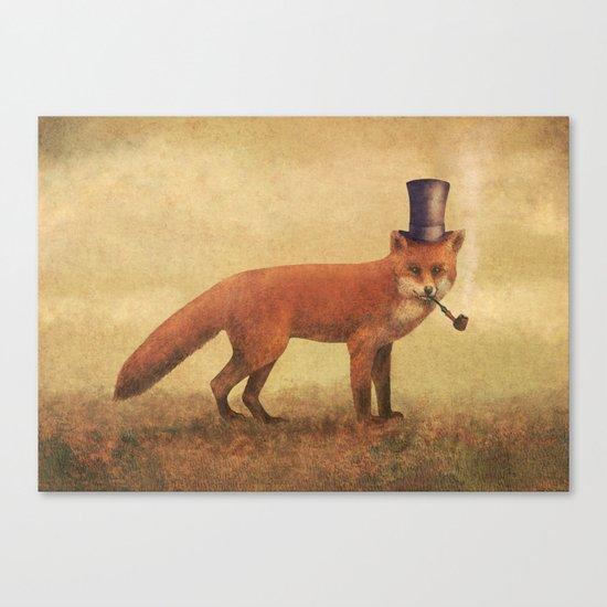 Crazy Like a Fox  Canvas Print