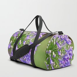 Agapanthus (African Lily) Duffle Bag