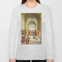 "Raffaello Sanzio da Urbino ""The School of Athens"", 1509-1510 Long Sleeve T-shirt"