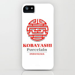 Kobayashi Porcelain iPhone Case