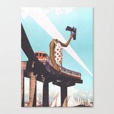 Le train Canvas Print