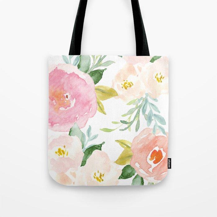 Floral 02 Tote Bag