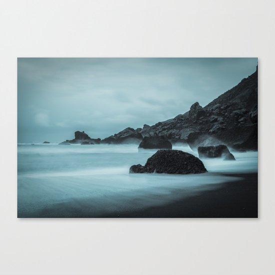 Midnight Foam Canvas Print