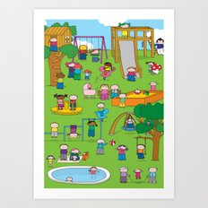 Playground  XL Art Print