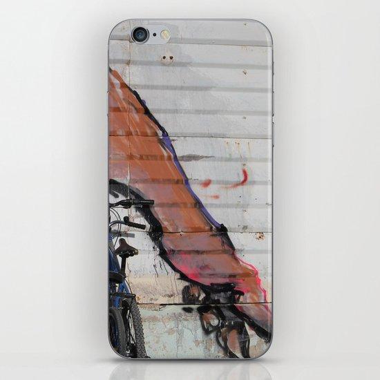 foot print iPhone & iPod Skin