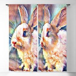 Aquarell Bunny Blackout Curtain