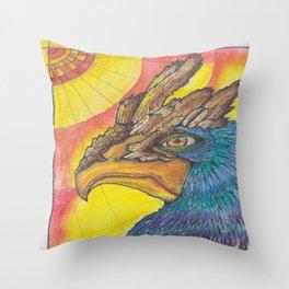 El Avion del Sol Throw Pillow