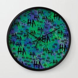 The Joker: HA HA HA Wall Clock