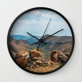 Pikes Peak Landscape Wall Clock