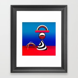 modern still life Framed Art Print