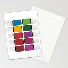 Oily me daily Stationery Cards
