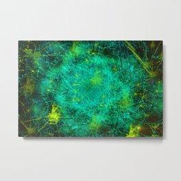 Fractured Galaxy Metal Print