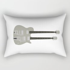 Gretsch Doubleneck ( G5566 ) Rectangular Pillow