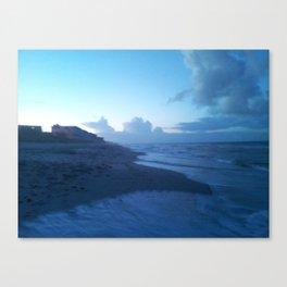 Ocean Breeze Blue Canvas Print